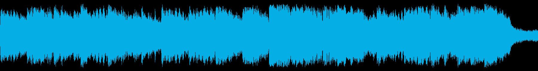 【ループBGM】癒しのミニオーケストラの再生済みの波形