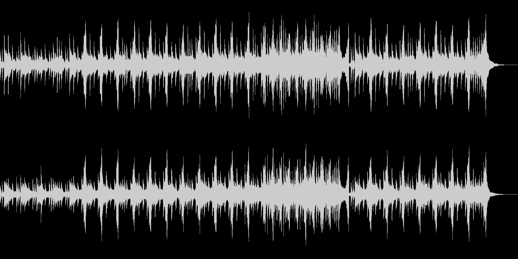 ゆったり切ない感動系ピアノバラード映像の未再生の波形