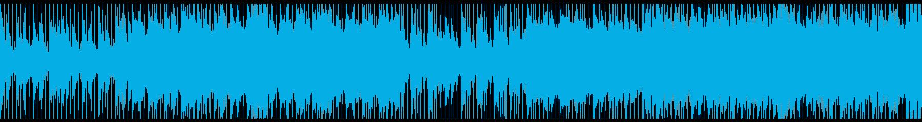 映画のような景色が見える切ない曲ループの再生済みの波形