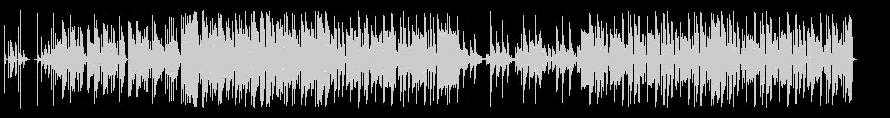 ヒップホップ トロピカルの未再生の波形