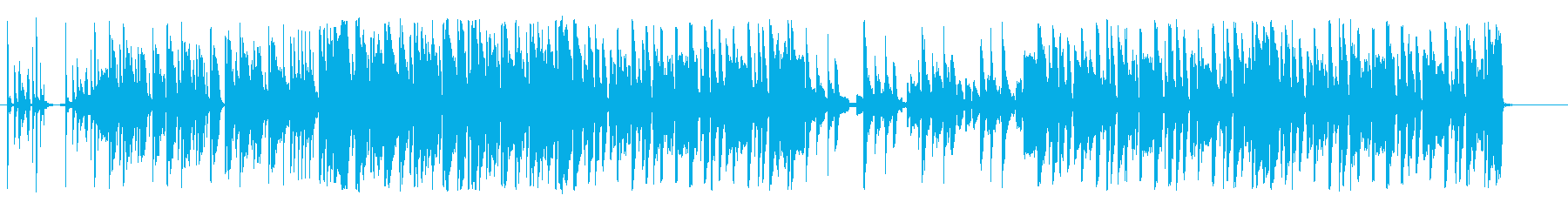 ヒップホップ トロピカルの再生済みの波形