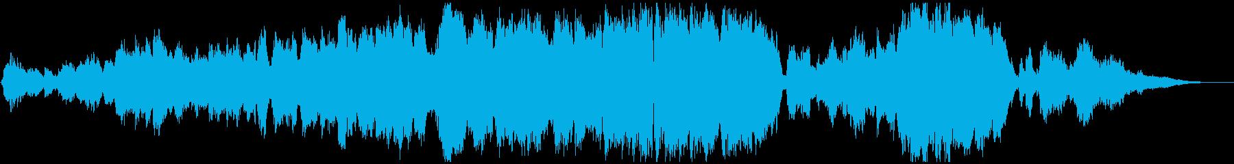 生演奏フルートのゆったり優しいバラードの再生済みの波形