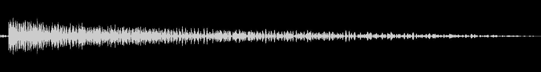 シートメタルヒット02-LCRの未再生の波形