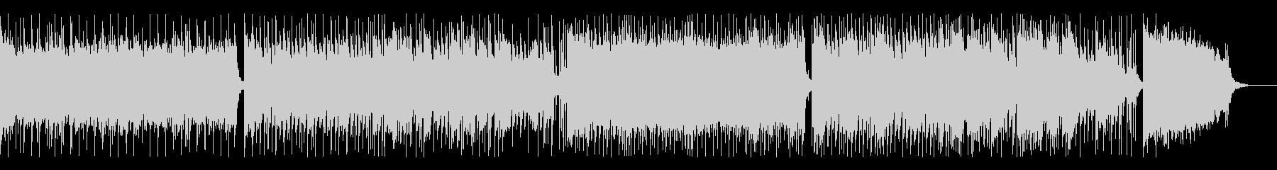 ヘヴィーなリフのロック の未再生の波形