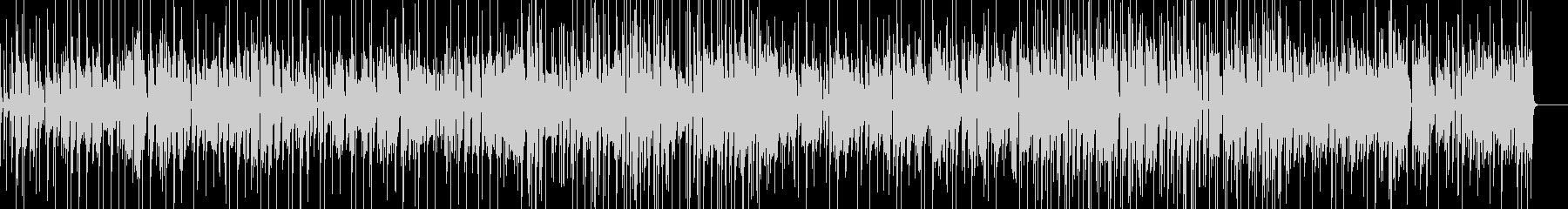 ちょっと落ち着いた雰囲気のシンプルR&Bの未再生の波形