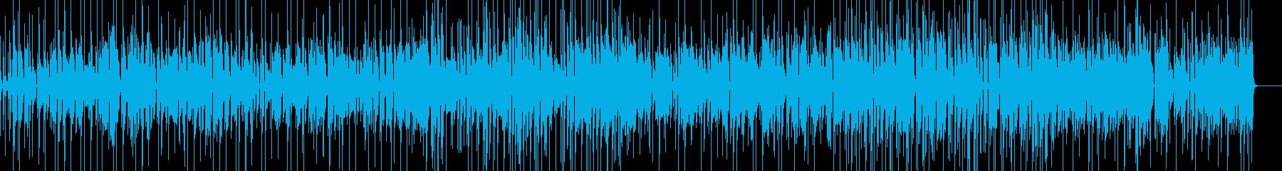ちょっと落ち着いた雰囲気のシンプルR&Bの再生済みの波形