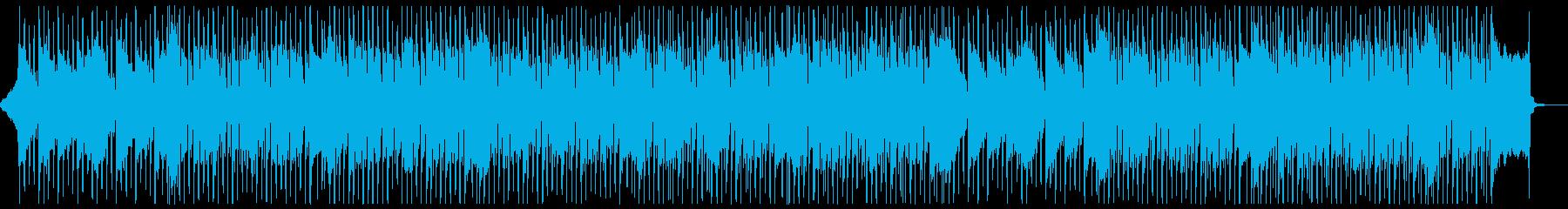 明るい企業VPにぴったりなギターインストの再生済みの波形