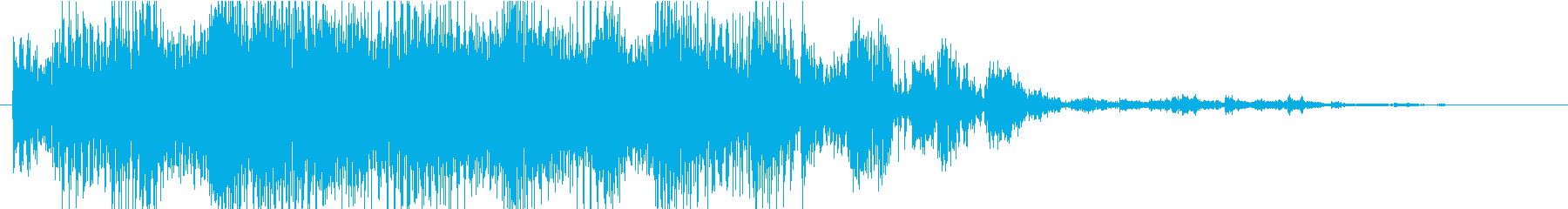 暗いシンセサイザーと残忍なビートを...の再生済みの波形