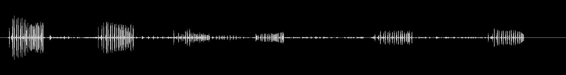 鳥-ターンステーン-アレナリアイン...の未再生の波形