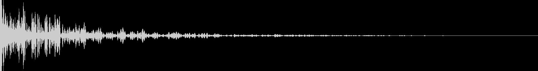 ダンの未再生の波形