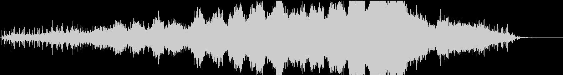 ハロウィン_古時計のミステリー風の未再生の波形