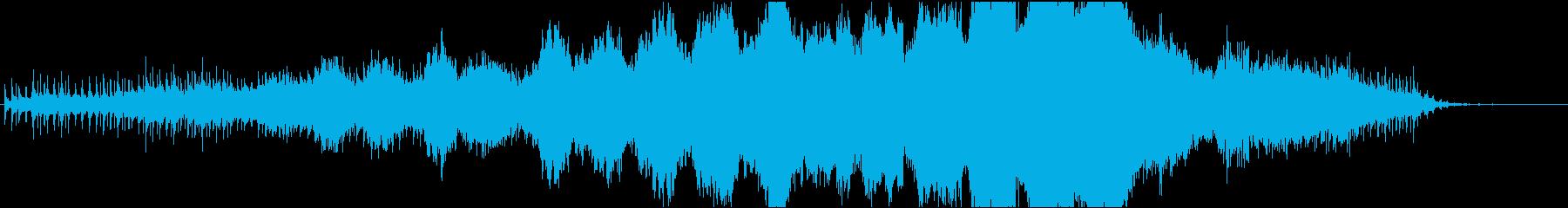 ハロウィン_古時計のミステリー風の再生済みの波形