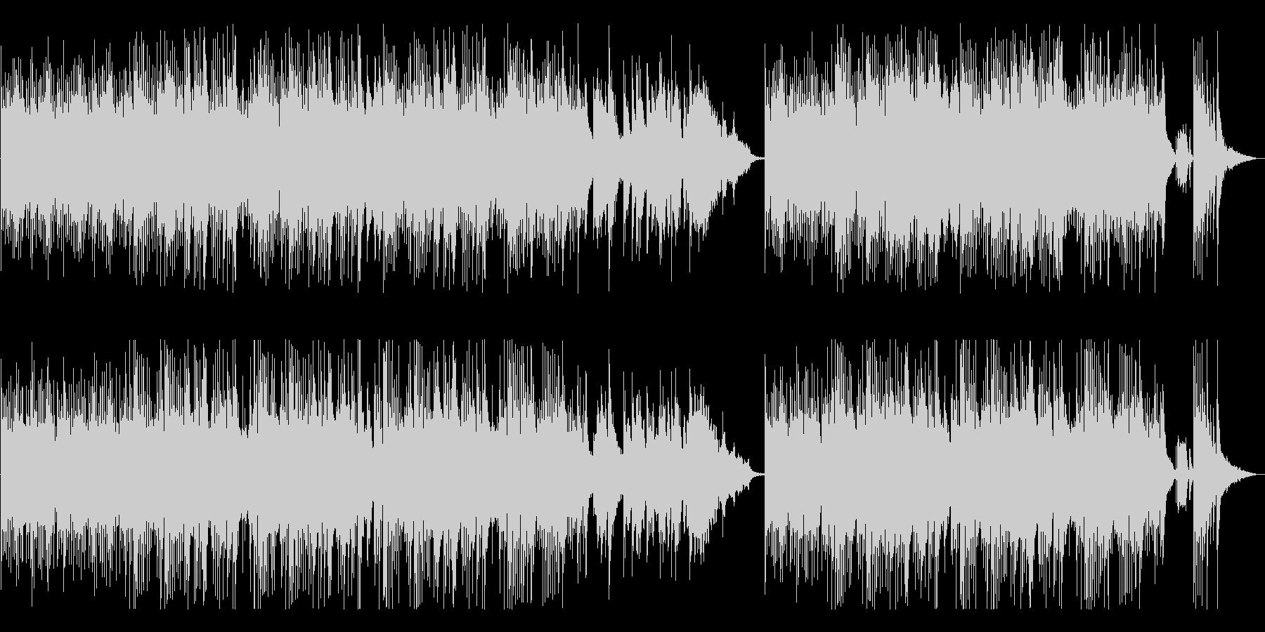 ヒーリング系オリエンタル音楽の未再生の波形