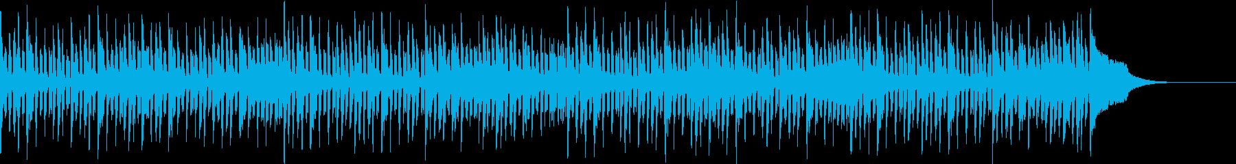 Pf「質問」和風現代ジャズの再生済みの波形