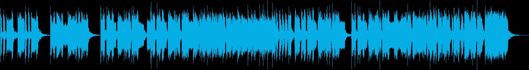 楽しげなサックス4重奏の再生済みの波形