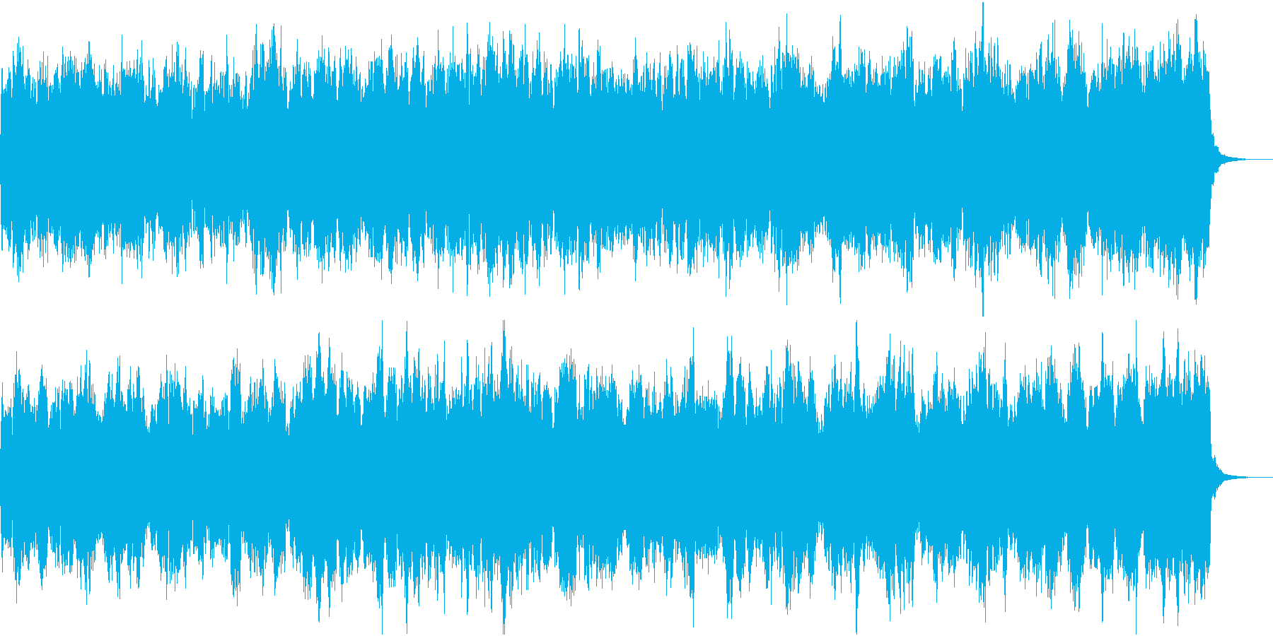 美しい転調が多い弦楽器のクラシカルな曲の再生済みの波形