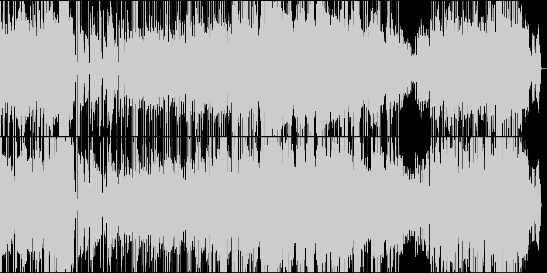 コミカルだけど真面目なポップロックの未再生の波形