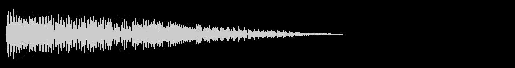 下降する、細長い、ハワイアンギター...の未再生の波形