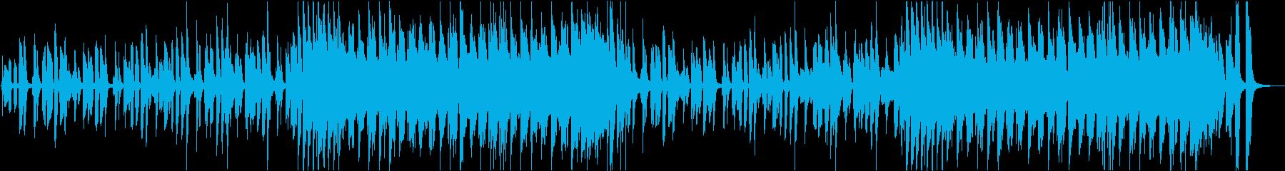 動画】コミカル情けないハーモニカBGMの再生済みの波形
