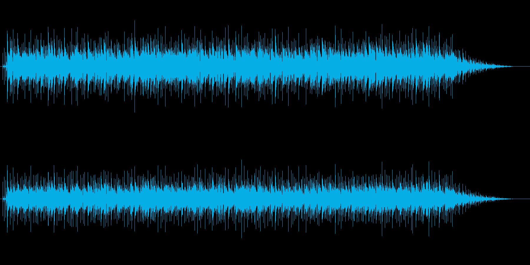 癒し系ボサノバサウンドの再生済みの波形