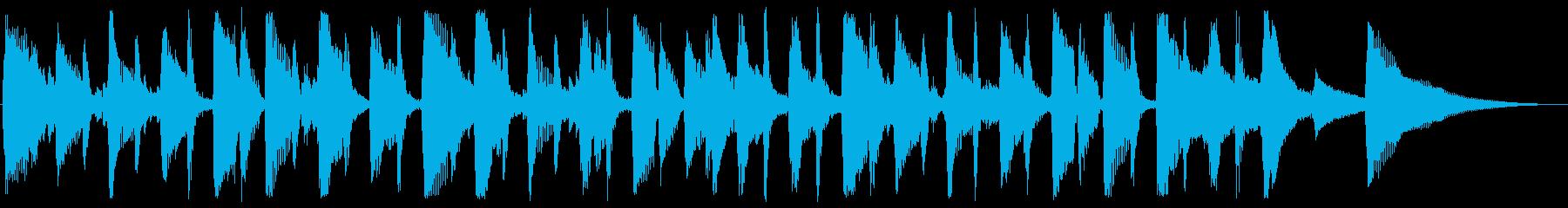 サラサラ ジャズ ほのぼの 幸せ ...の再生済みの波形