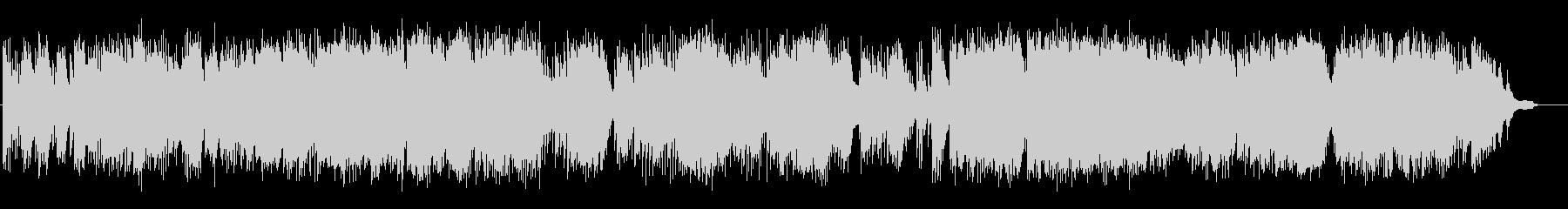ピアノソロ即興演奏の未再生の波形