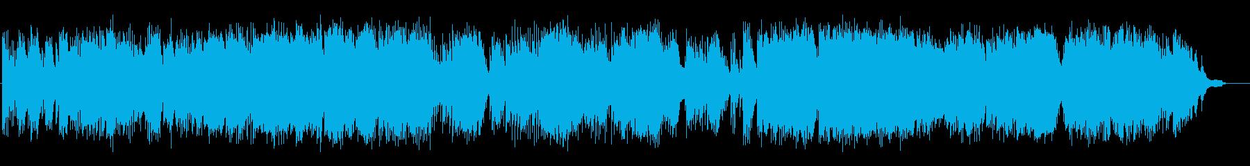 ピアノソロ即興演奏の再生済みの波形
