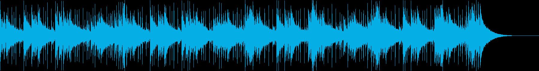 Pf「報道」和風現代ジャズの再生済みの波形