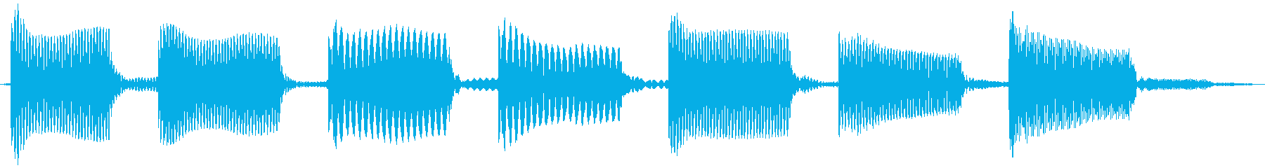 電話12の再生済みの波形