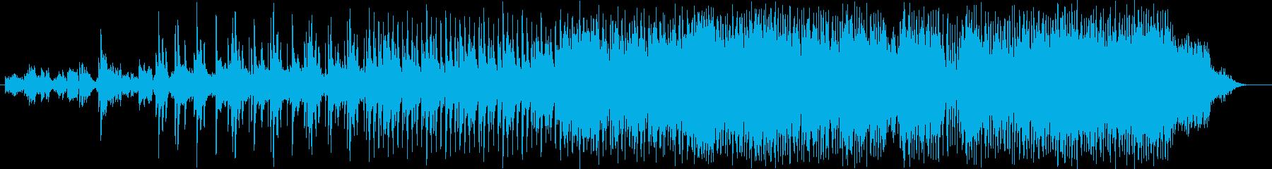 激しくかっこいいエレクトリックロックの再生済みの波形