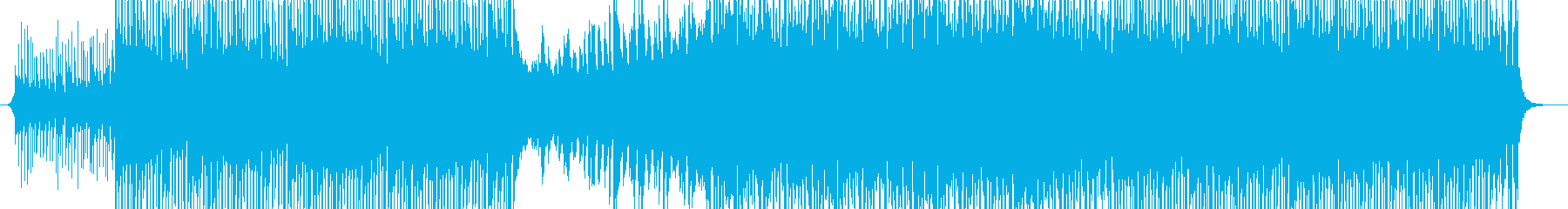 Corporate Musicの再生済みの波形