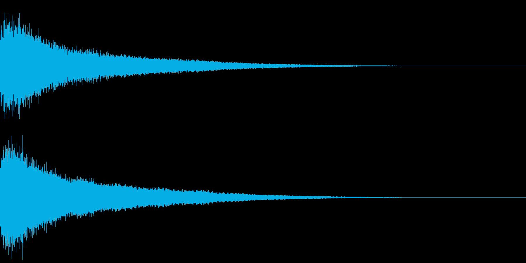 【チャイナシンバル ゴング】中国演出!3の再生済みの波形