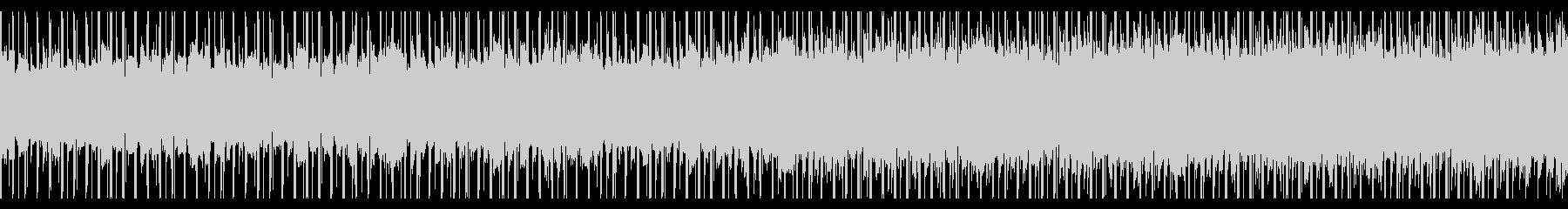 チュートリアル(ループ)の未再生の波形