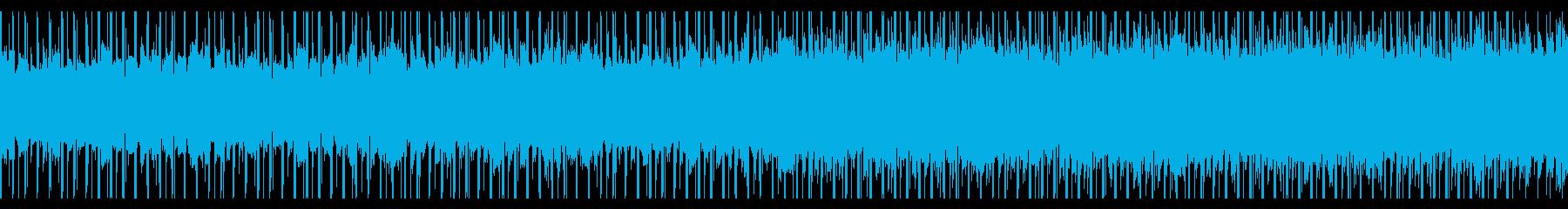 チュートリアル(ループ)の再生済みの波形