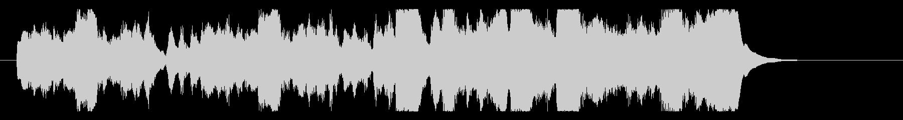クラリネットのほのぼのオーケストラの未再生の波形