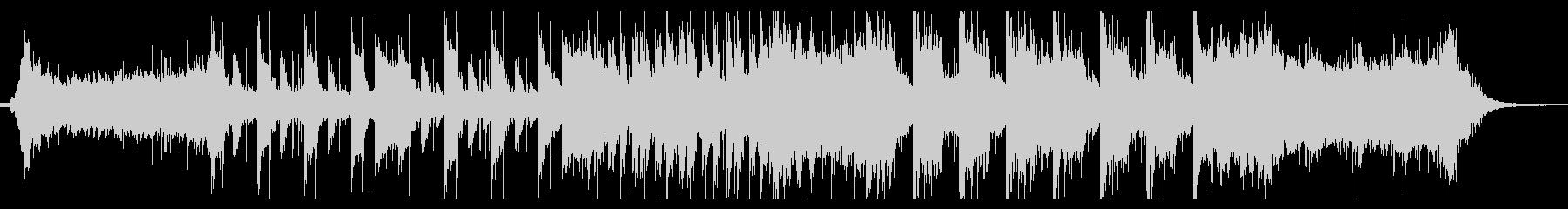 ダークで近未来的なEDMの未再生の波形