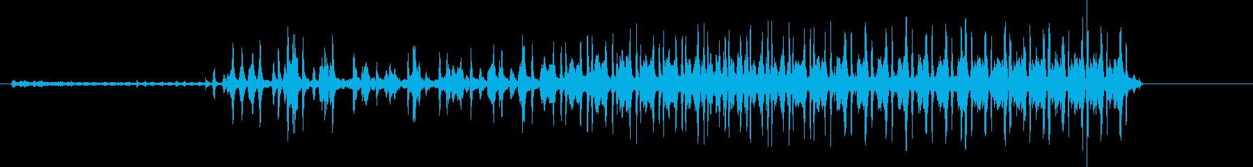ブルサード:電動スタート/アイドル...の再生済みの波形