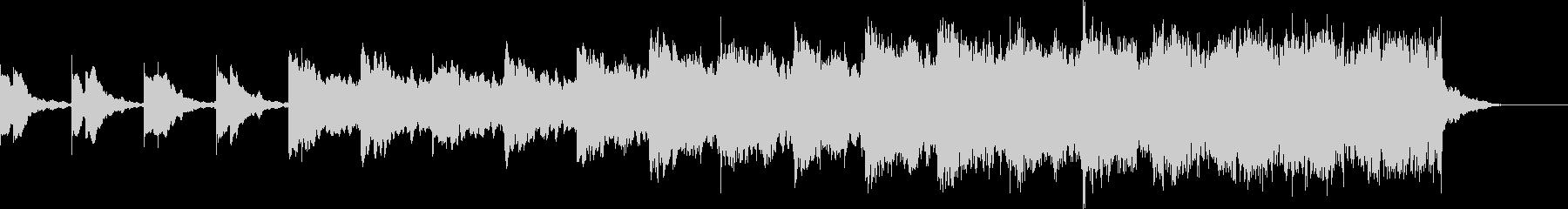 ショートBGM、ダークロックの未再生の波形
