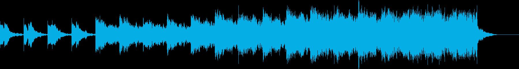 ショートBGM、ダークロックの再生済みの波形