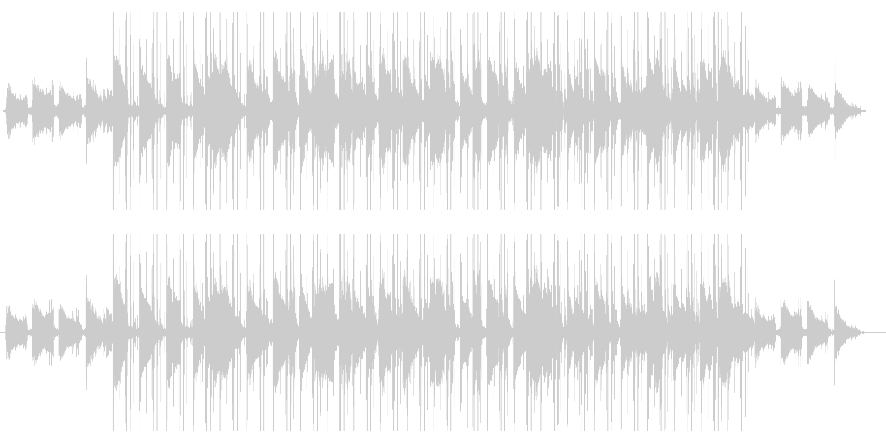 【生演奏】Lofi/Jazz/透明感の未再生の波形