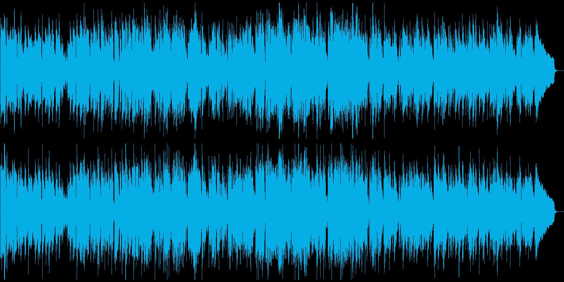 気持ちの良いテンポのジャズサックス生演奏の再生済みの波形