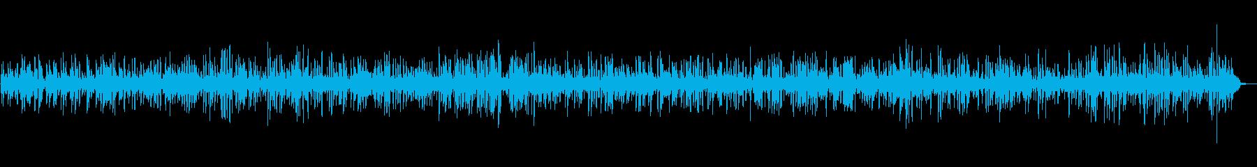 BGM|癒しのジャズギター|映像・店舗の再生済みの波形