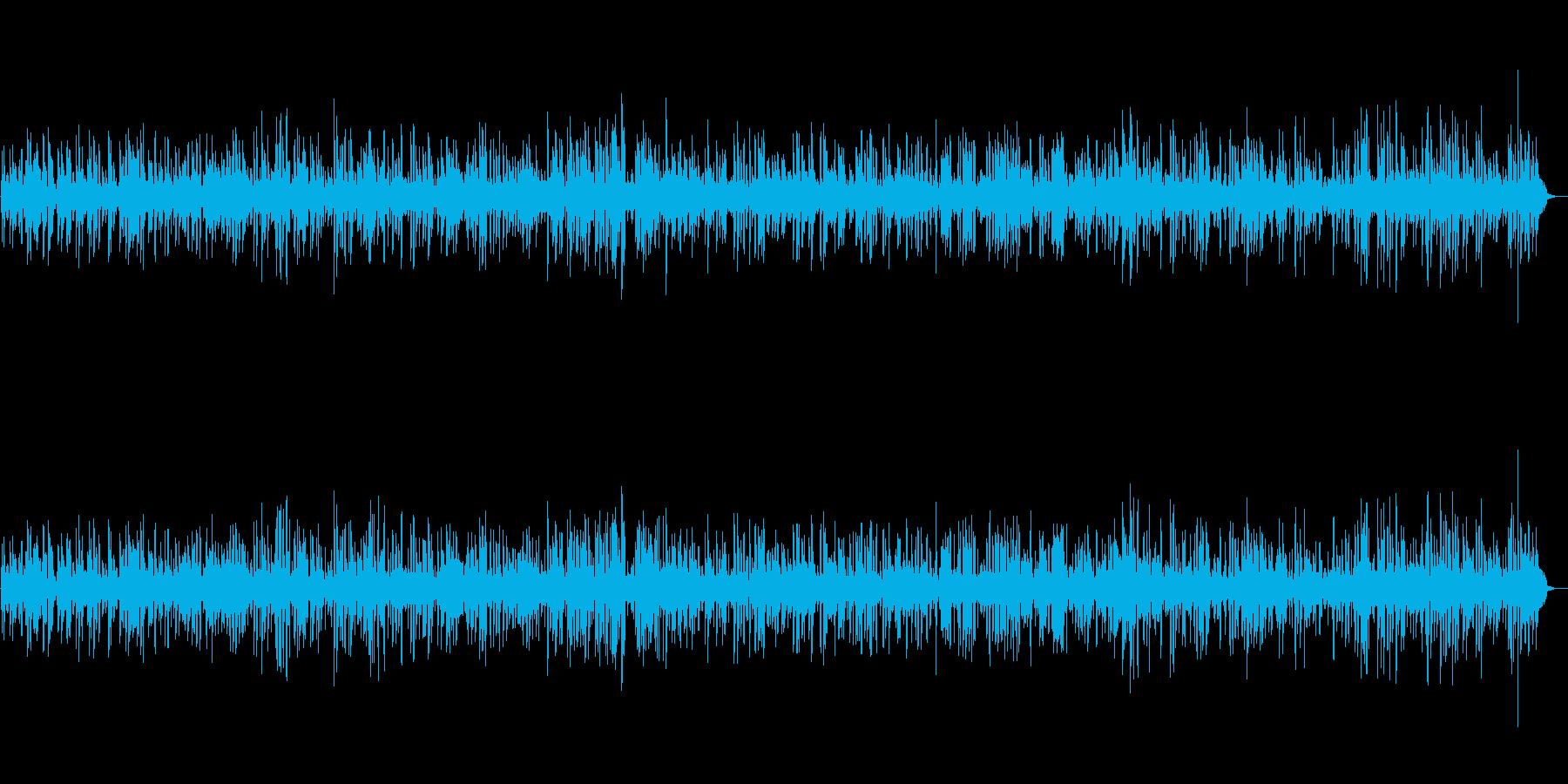 BGM 癒しのジャズギター 映像・店舗の再生済みの波形