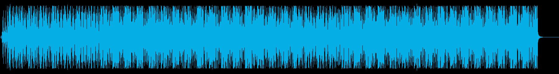未来的でファンキーなBGMの再生済みの波形