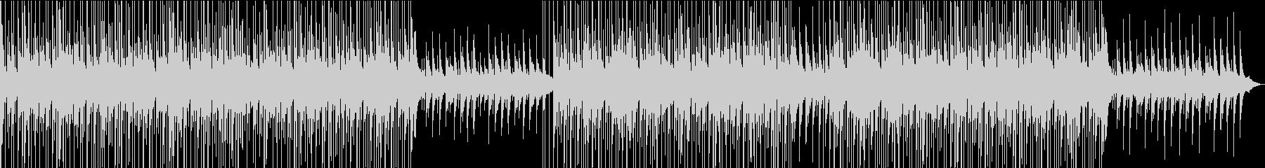 おしゃれなチルピアノの未再生の波形