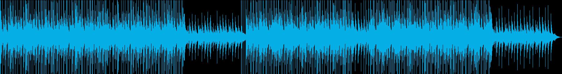 おしゃれなチルピアノの再生済みの波形