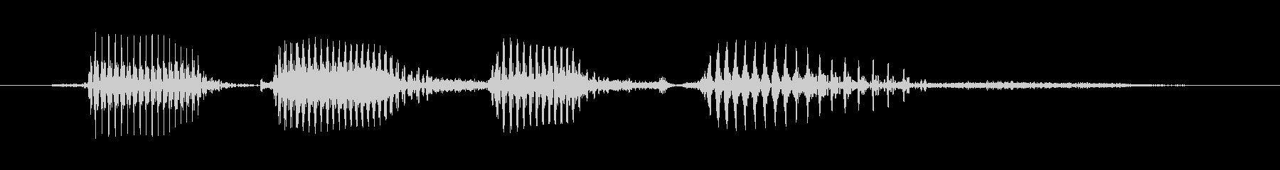 シニア男性A:ハッピー50の未再生の波形