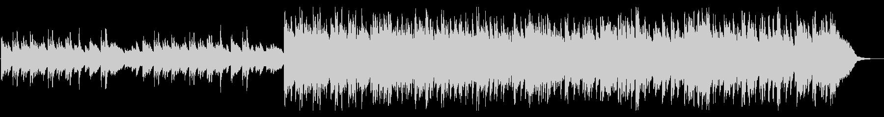 ハープの音色が美しい幻想的なBGMの未再生の波形