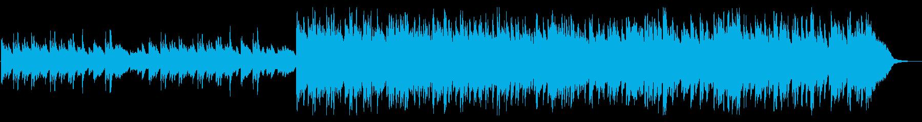ハープの音色が美しい幻想的なBGMの再生済みの波形