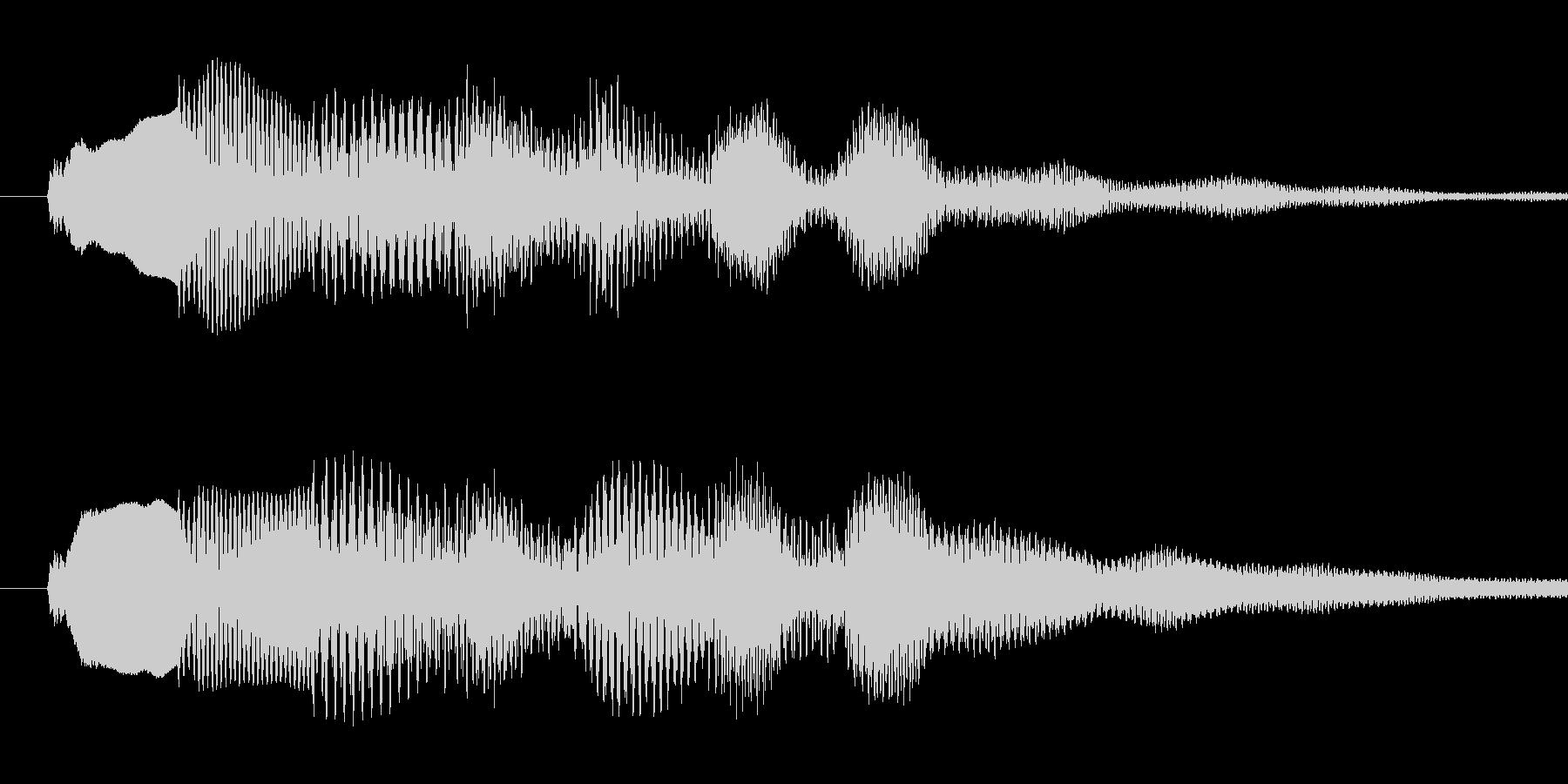 Musicboxによる着信音です。の未再生の波形